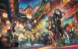 Rating: Safe Score: 95 Tags: animal_ears au_ra blue_eyes building catgirl city elezen final_fantasy final_fantasy_xiv food green_hair hat horns hyur lalafell long_hair male miqo'te moogle pointed_ears roegadyn square_enix tagme_(artist) tail thighhighs watermark white_hair User: SciFi