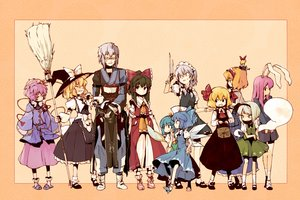 Rating: Safe Score: 33 Tags: alice_margatroid animal_ears black_hair blonde_hair blue_hair bow bunny_ears bunnygirl cirno daiyousei doll fairy glasses gray_hair hakurei_reimu hat headband hourai izayoi_sakuya japanese_clothes kirisame_marisa knife komeiji_satori konpaku_youmu maid male miko morichika_rinnosuke myon pink_hair reisen_udongein_inaba ribbons rumia tcmk touhou weapon wings witch User: RyuZU
