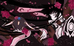 Rating: Safe Score: 48 Tags: clamp dress flowers ichihara_yuuko mokona tree xxxholic User: Maboroshi