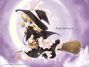 Rating: Safe Score: 10 Tags: blonde_hair blue_eyes hat kirisame_marisa touhou witch User: Oyashiro-sama
