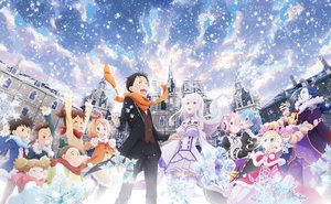 Rating: Safe Score: 42 Tags: aqua_eyes aqua_hair beatrice_(re:zero) black_hair blonde_hair blue_hair braids brown_eyes building dress earmuffs emilia group headdress jpeg_artifacts loli long_hair maid male natsuki_subaru pink_hair puck purple_eyes ram_(re:zero) red_eyes rem_(re:zero) re:zero_kara_hajimeru_isekai_seikatsu roswaal_l._mathers scarf short_hair skirt snow tagme_(artist) tagme_(character) thighhighs twins twintails white_hair wink winter User: RyuZU