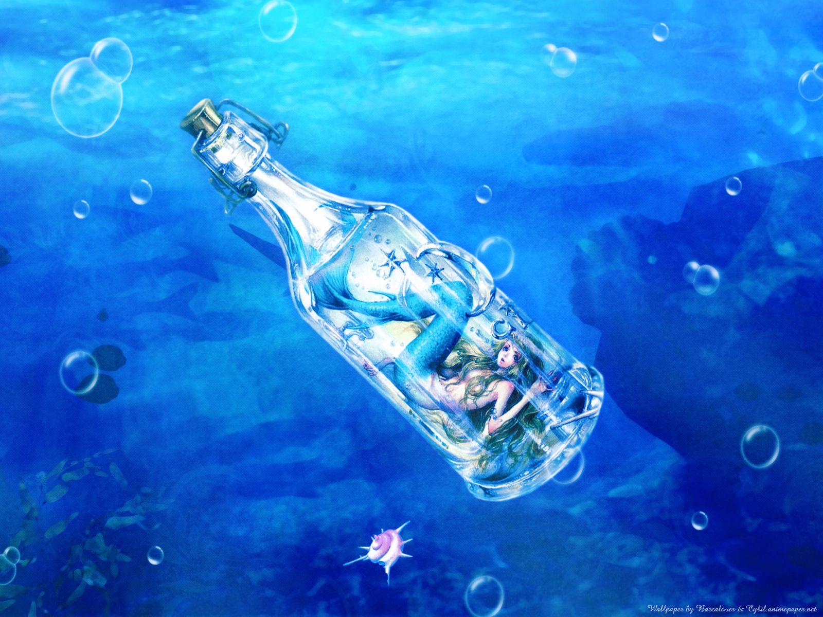 blue mermaid nao_tsukiji underwater water