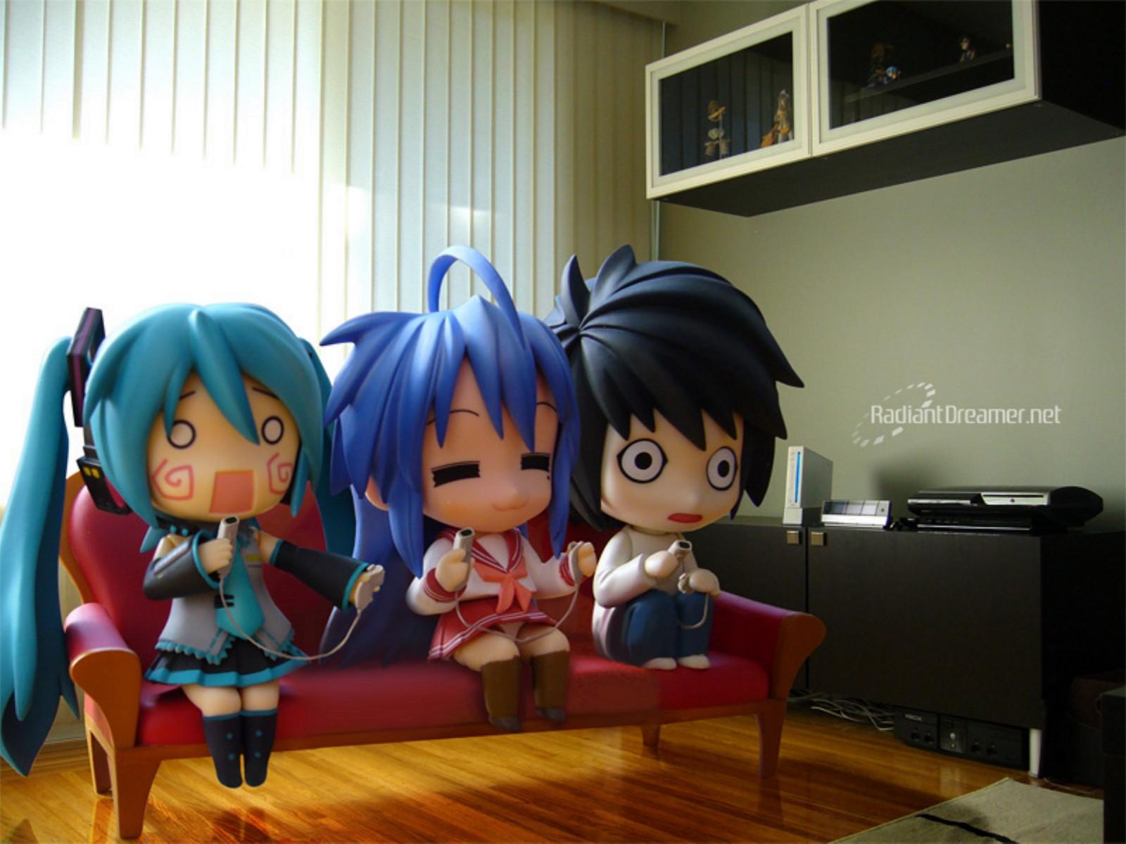 chibi death note figure game console hachune miku hatsune ...