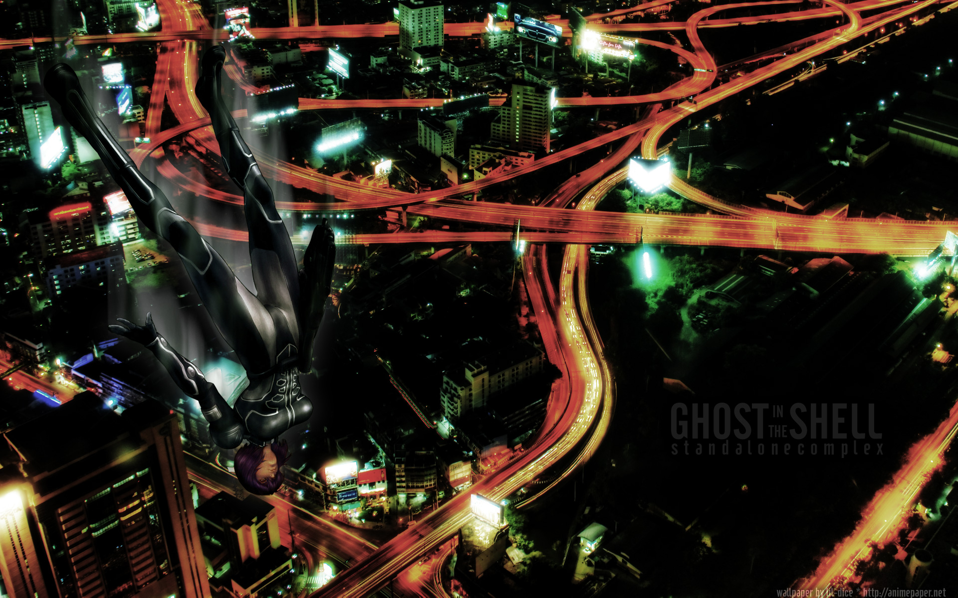 ghost_in_the_shell ghost_in_the_shell:_stand_alone_complex kusanagi_motoko night