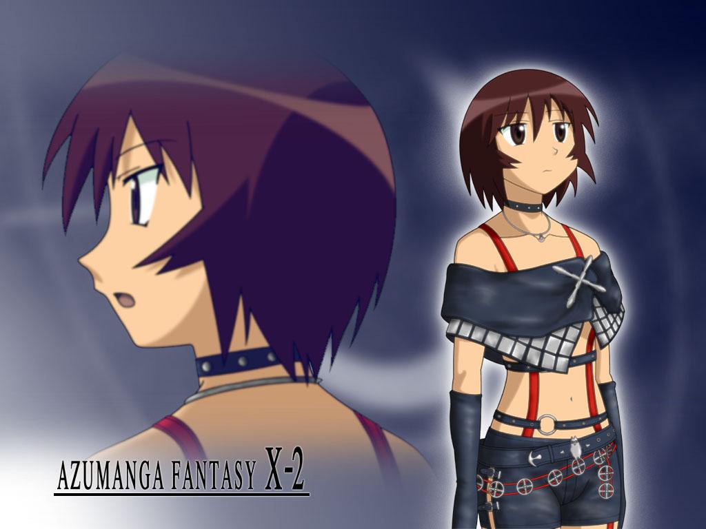 azumanga_daioh cosplay final_fantasy final_fantasy_x final_fantasy_x-2 kagura parody