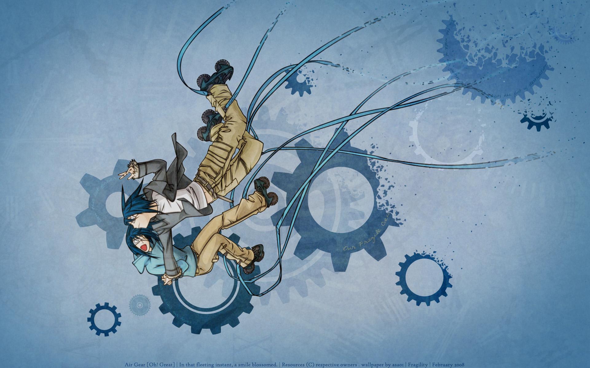 air_gear blue wanijima_akito
