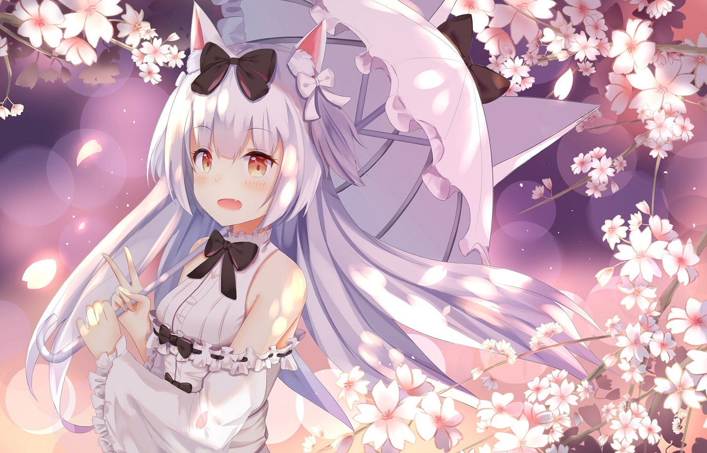animal_ears anthropomorphism azur_lane catgirl mobu_(wddtfy61) yukikaze_(azur_lane)