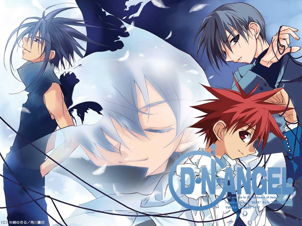 dark_mousy dnangel hiwatari_satoshi niwa_daisuke red_eyes red_hair sugisaki_yukiru