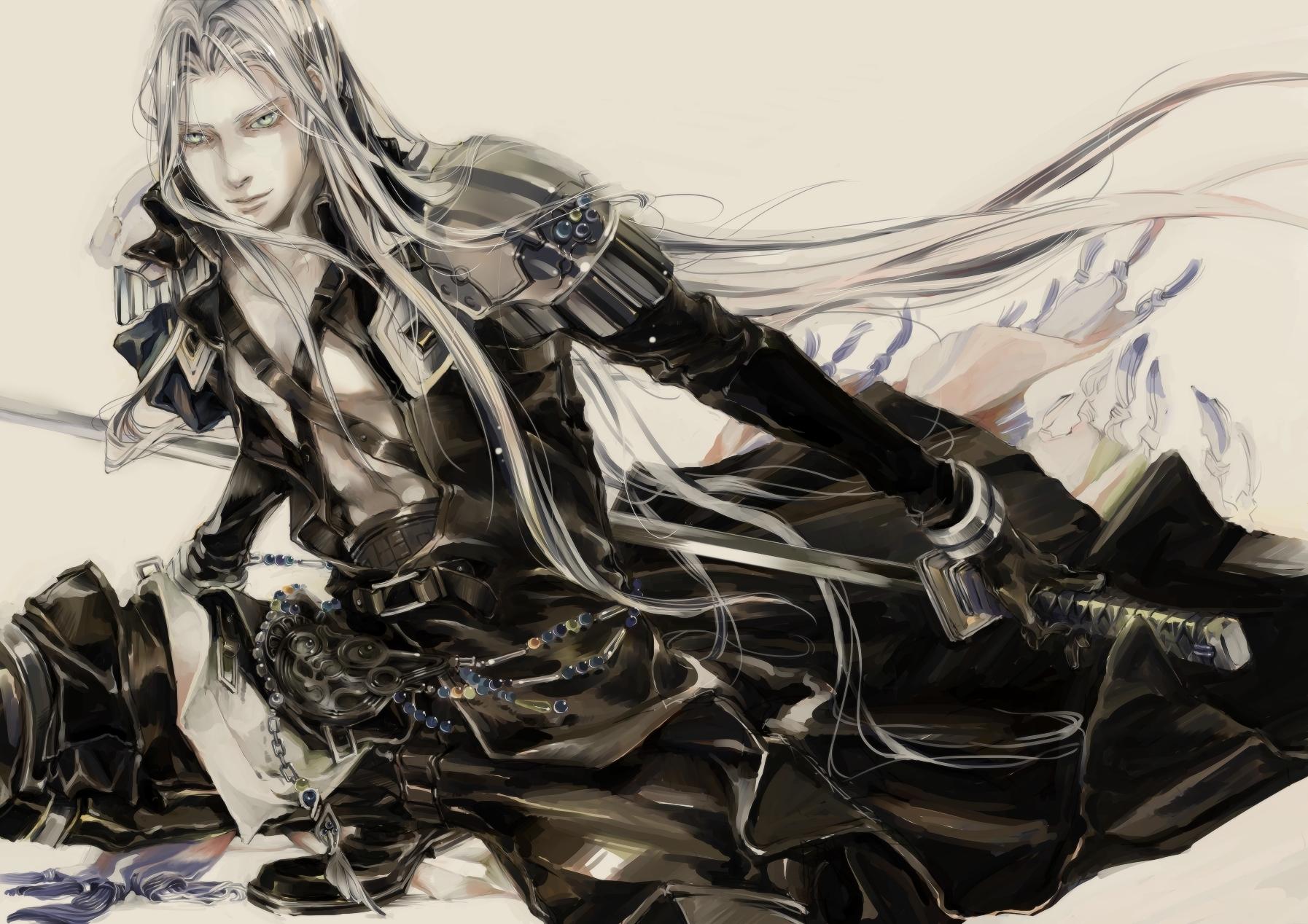 final_fantasy final_fantasy_vii sephiroth