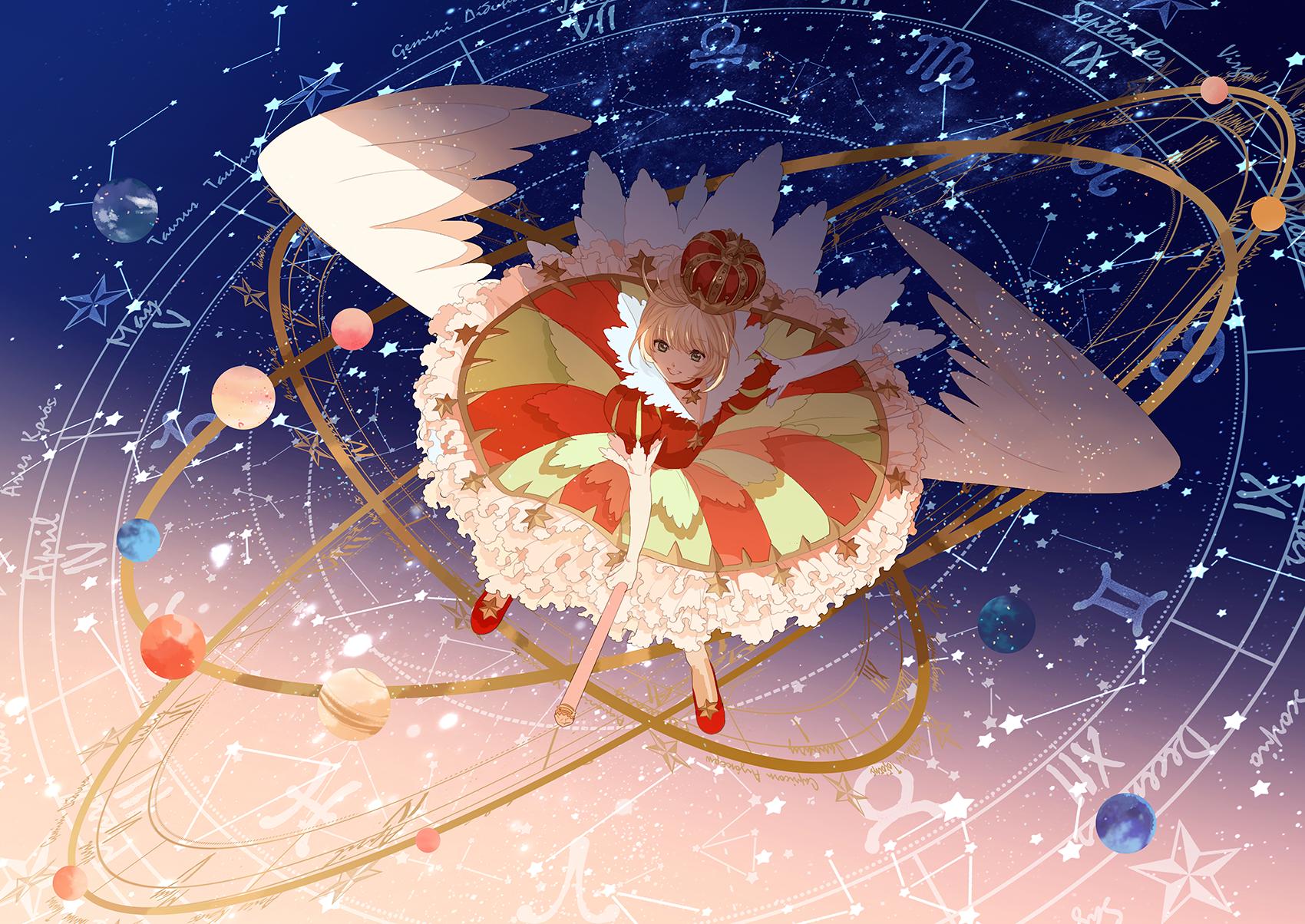 Card Captor Sakura Kinomoto Sakura Oka A M Konachan Net