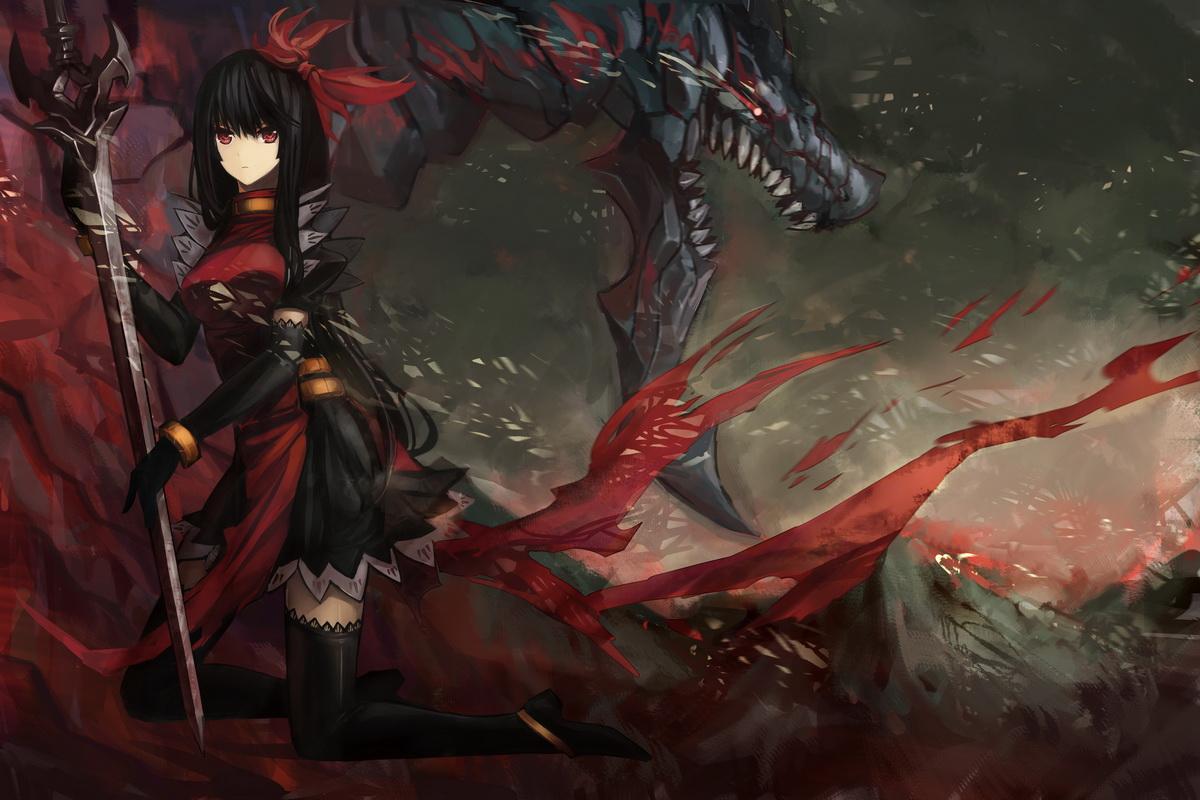 Anime dragon girl nackt pics