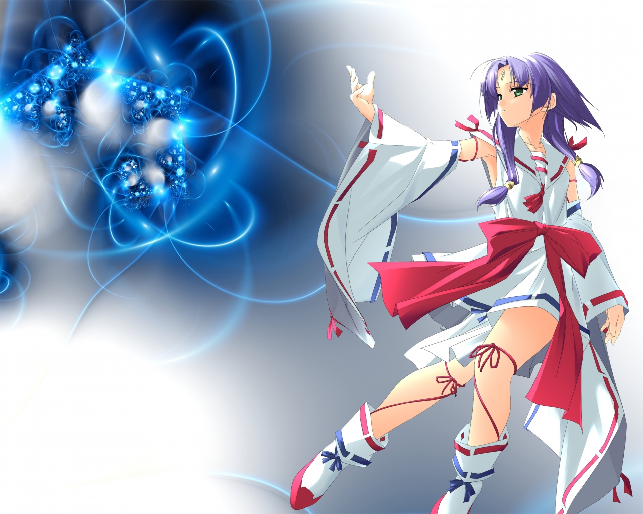 japanese_clothes miko rokuwata_tomoe zoids zoids_infinity