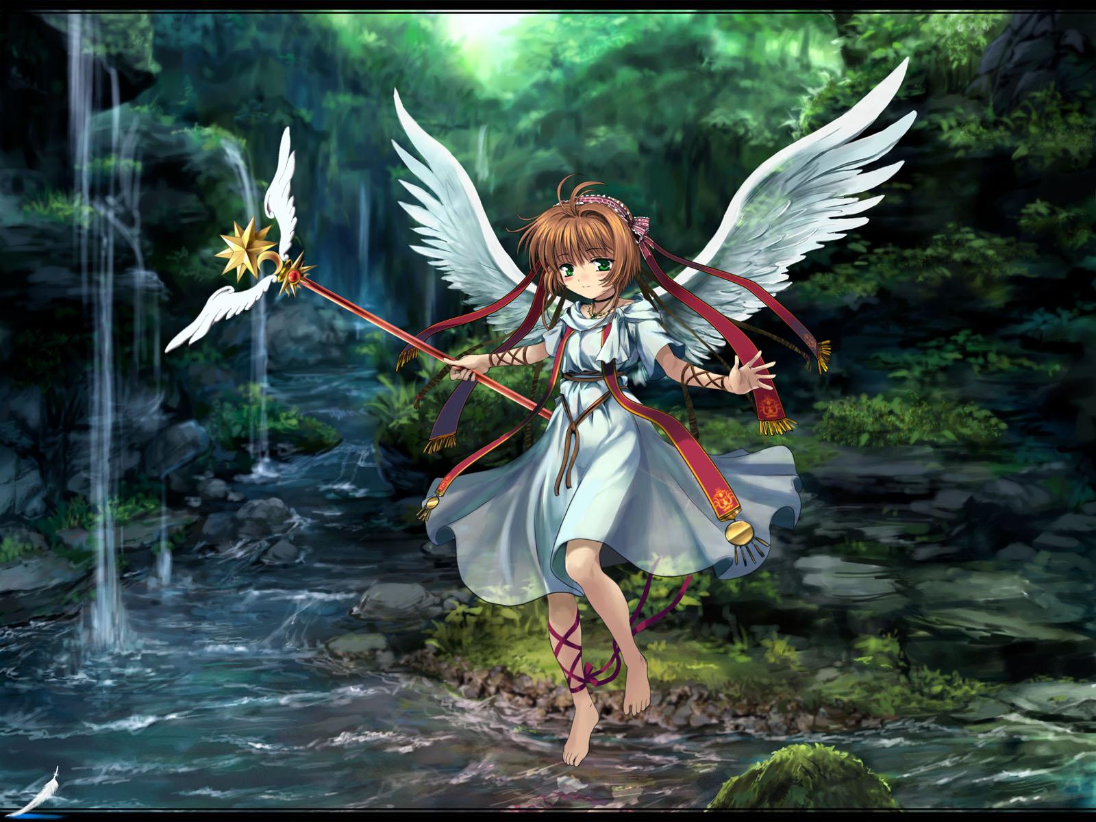 card_captor_sakura kinomoto_sakura wings