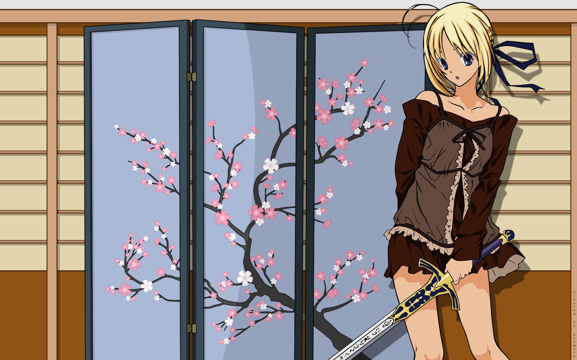 artoria_pendragon_(all) fate/hollow_ataraxia fate_(series) fate/stay_night saber type-moon