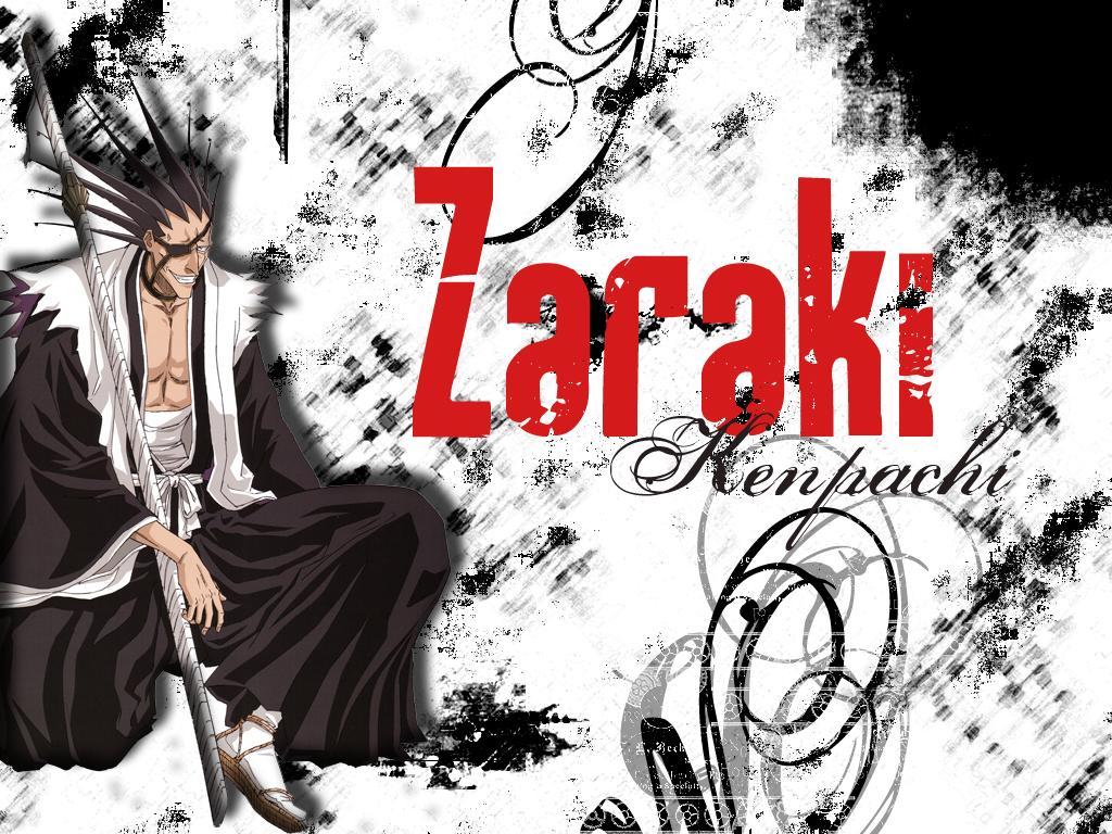 all_male black_hair bleach eyepatch male sword weapon zaraki_kenpachi