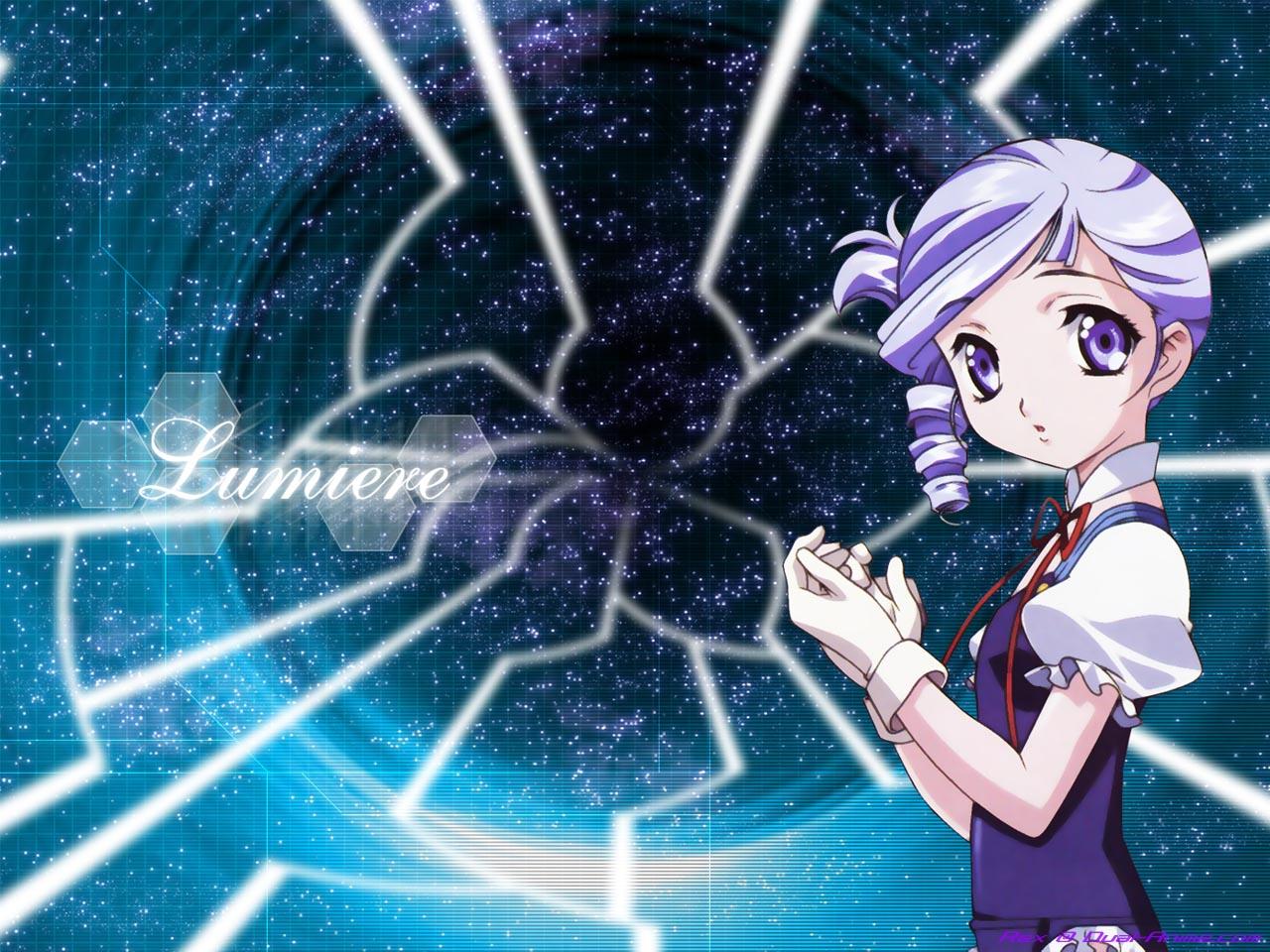 gloves kiddy_grade lumiere purple_eyes purple_hair