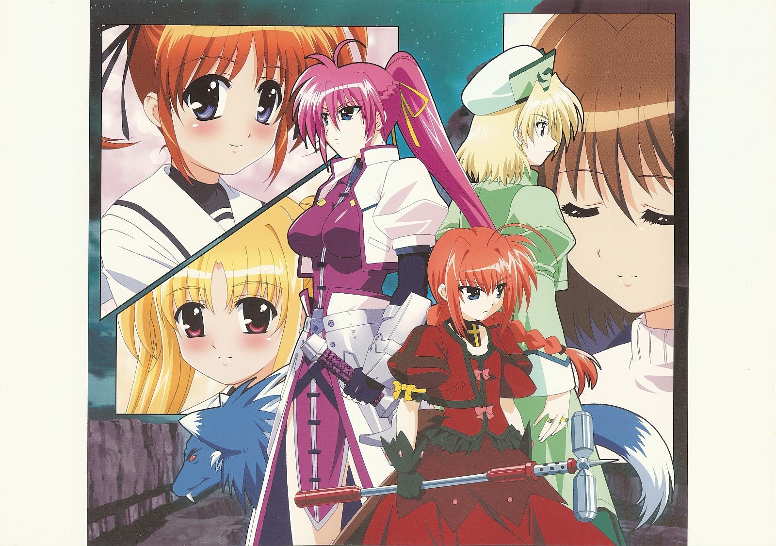 fate_testarossa mahou_shoujo_lyrical_nanoha shamal signum takamachi_nanoha vita yagami_hayate zafira