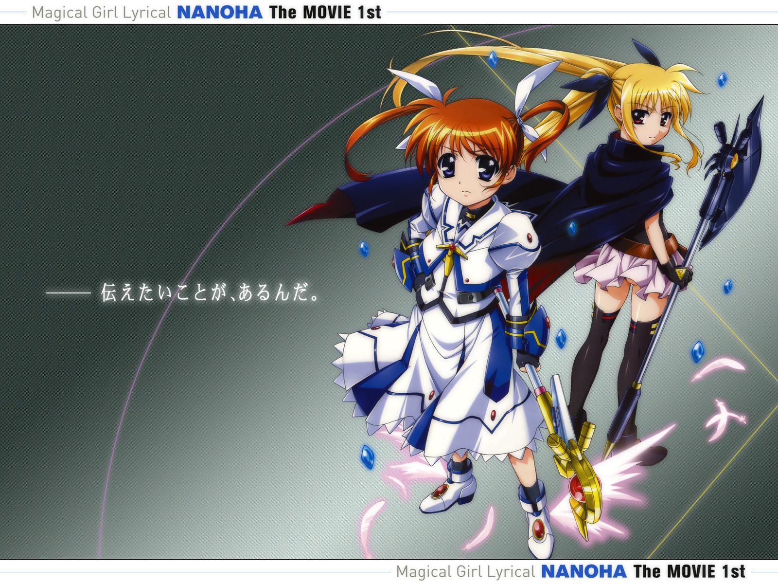 fate_testarossa mahou_shoujo_lyrical_nanoha mahou_shoujo_lyrical_nanoha_the_movie_1st takamachi_nanoha thighhighs