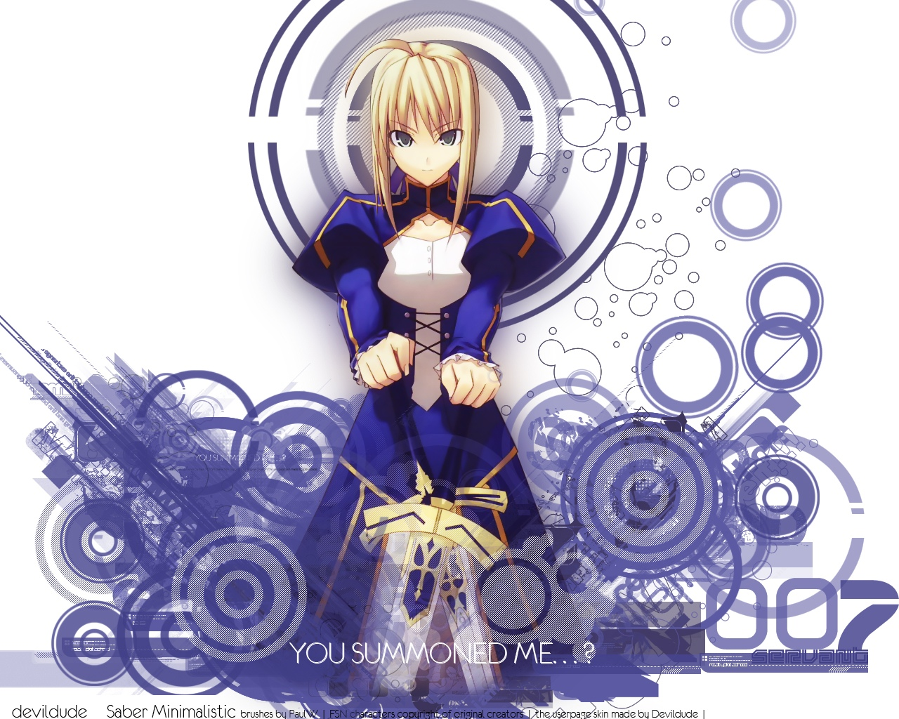 artoria_pendragon_(all) blonde_hair fate_(series) fate/stay_night saber shingo_(missing_link) sword weapon