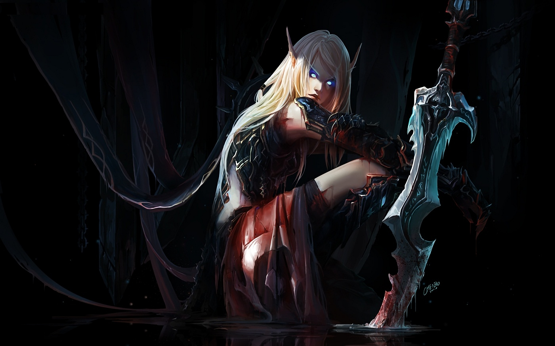 Bloodelf animated exposed galleries