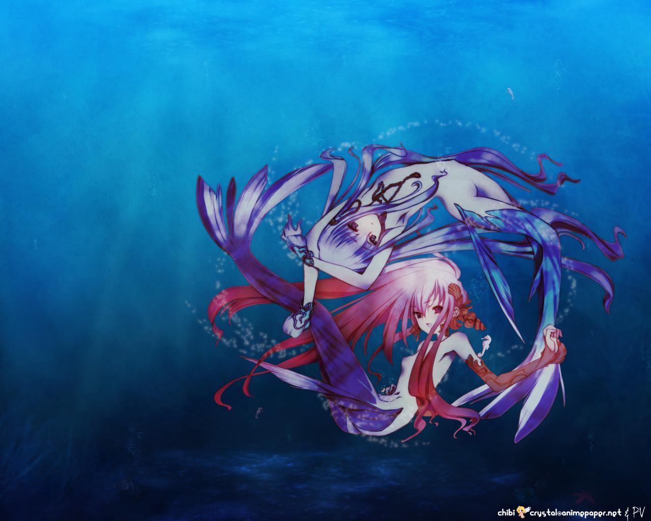 chouko_kabutomaru mermaid