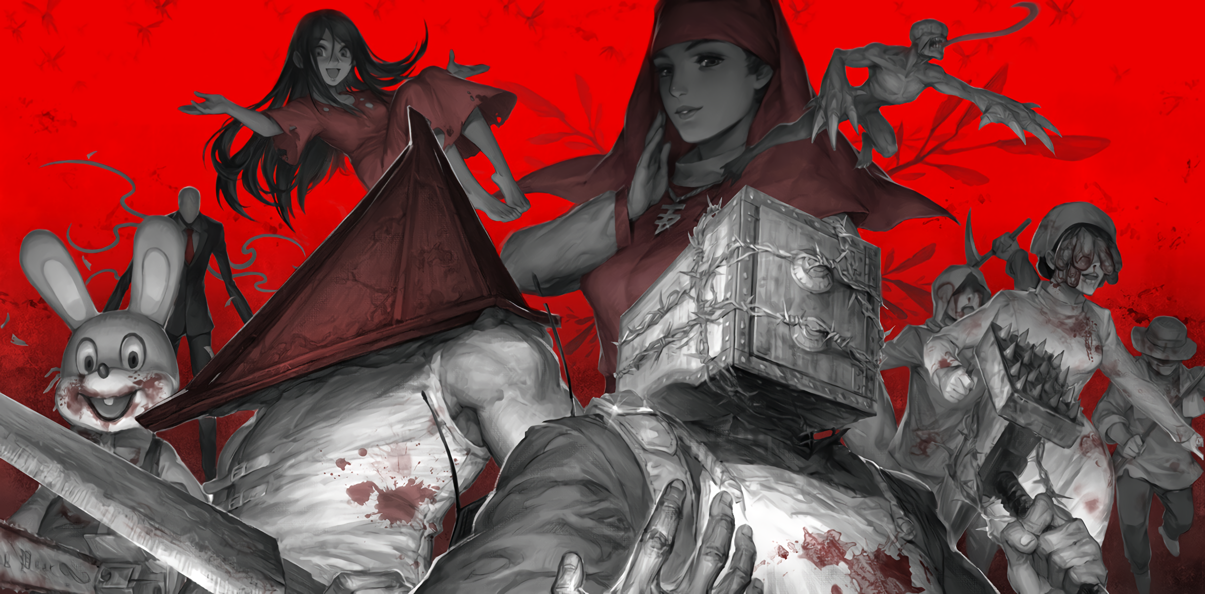 Blood Corpse Party Creepypasta Pyramid Head Red Resident