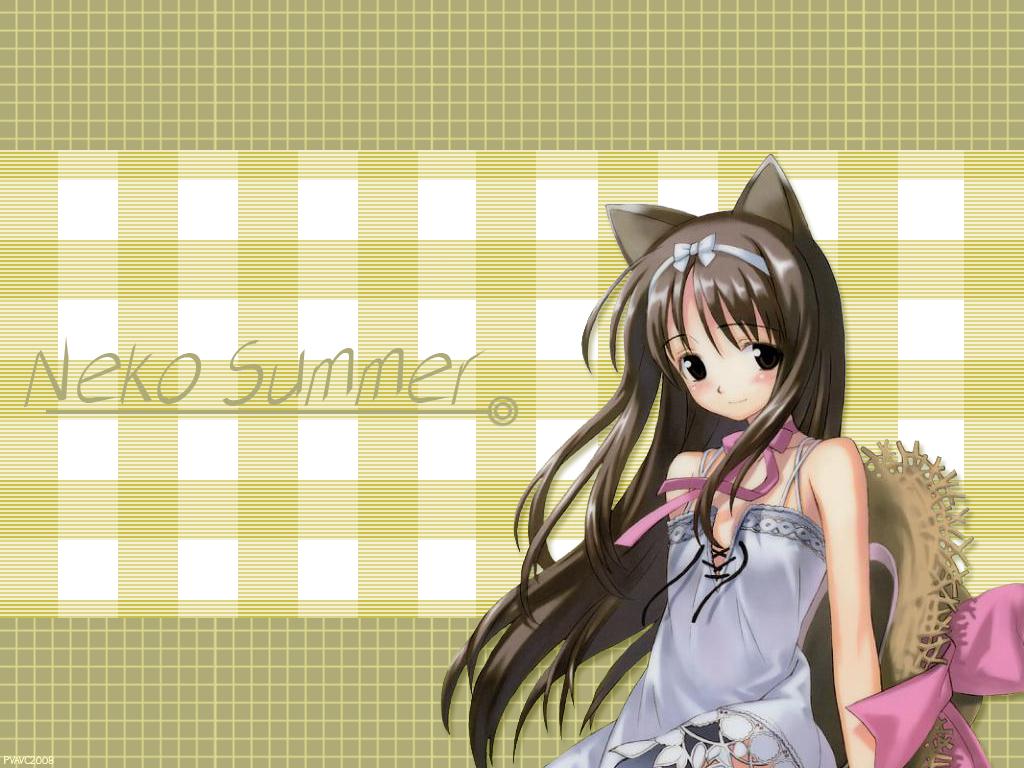 animal_ears catgirl hat summer