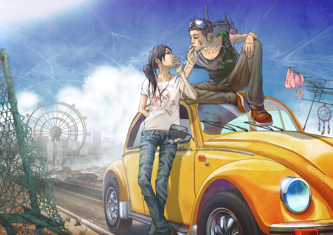 Картинки про аниме машины