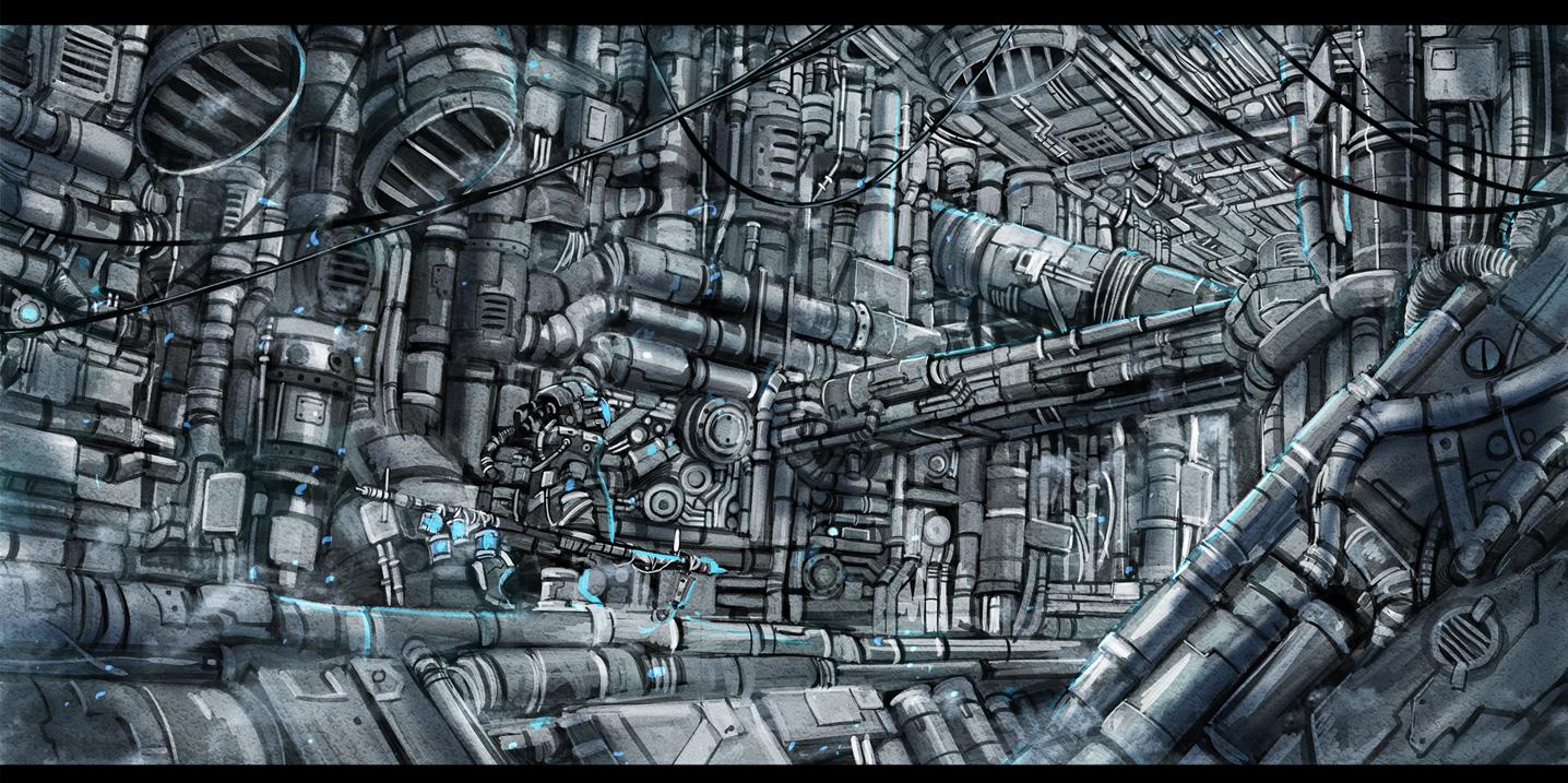 industrial mecha original polychromatic sonidoriy