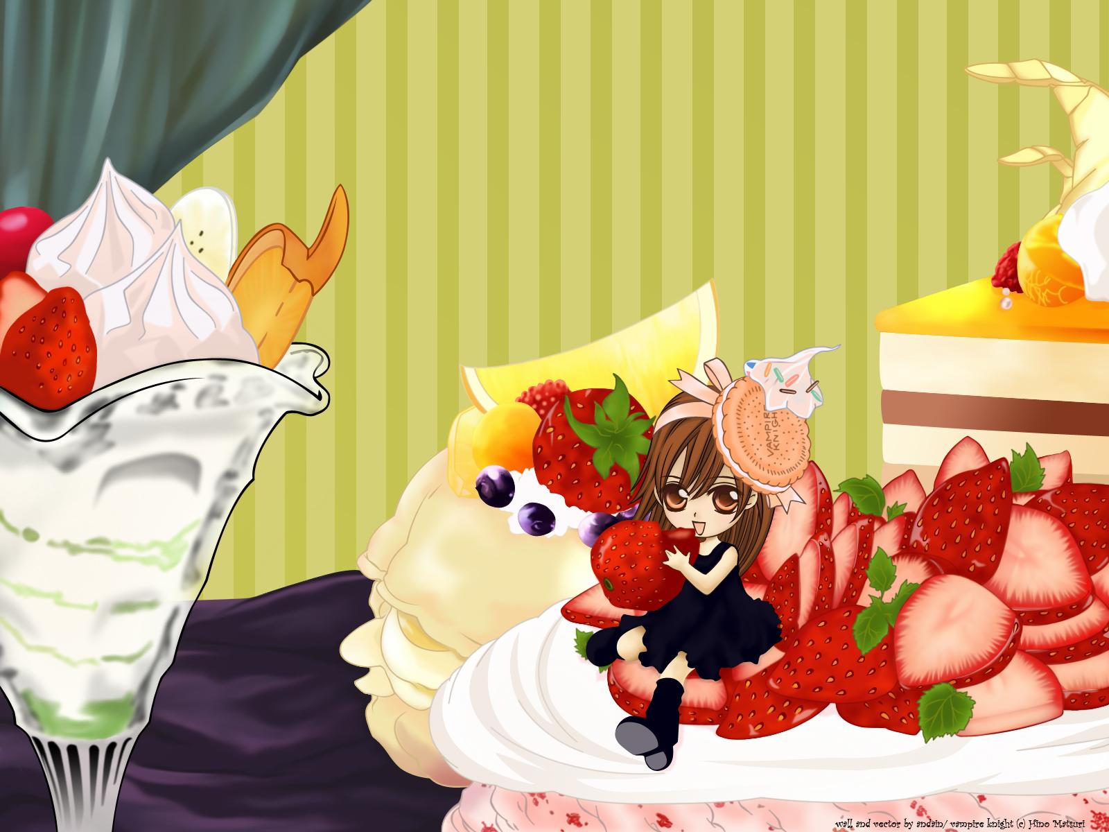 food matsuri_hino vampire_knight yuuki_cross