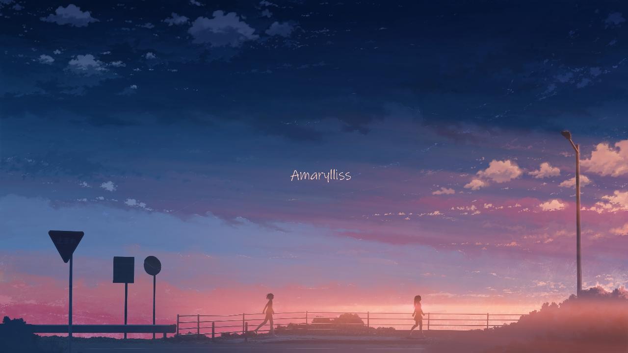 clouds hati_98 original scenic silhouette sky sunset