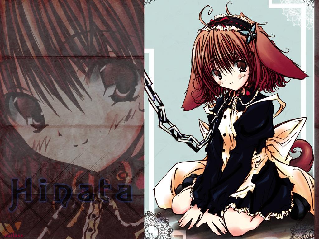 chain collar doggirl hinata_(pure_pure) pure_pure