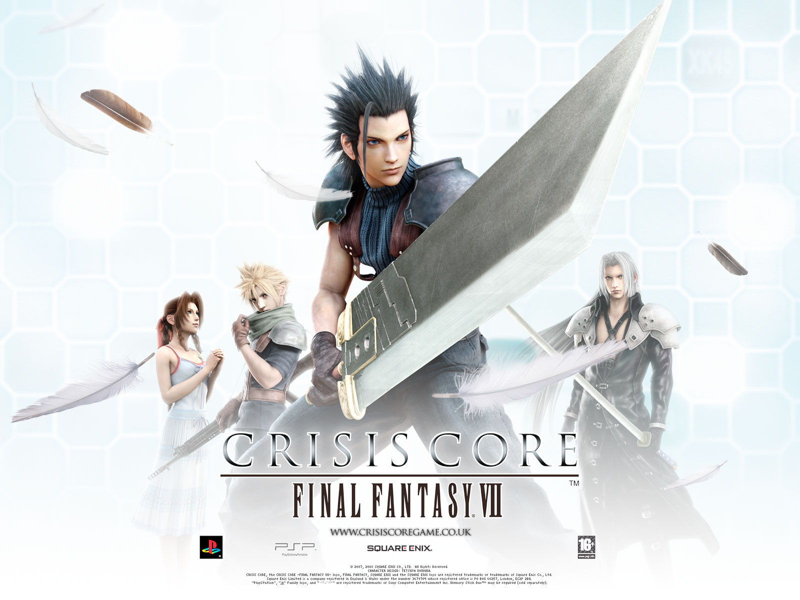 aerith_gainsborough cloud_strife crisis_core_final_fantasy_vii final_fantasy final_fantasy_vii sephiroth zack_fair