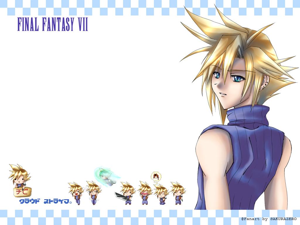 cloud_strife final_fantasy final_fantasy_vii