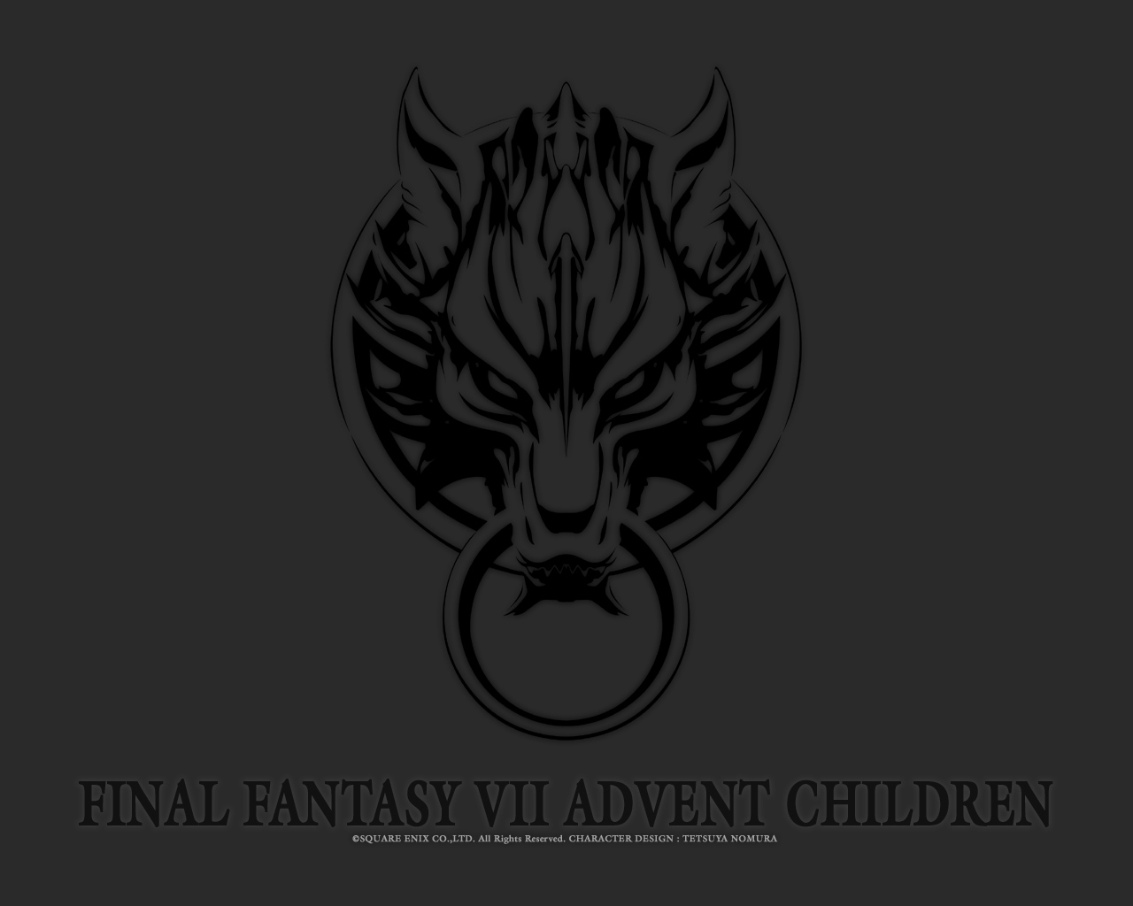 final_fantasy final_fantasy_vii final_fantasy_vii_advent_children logo
