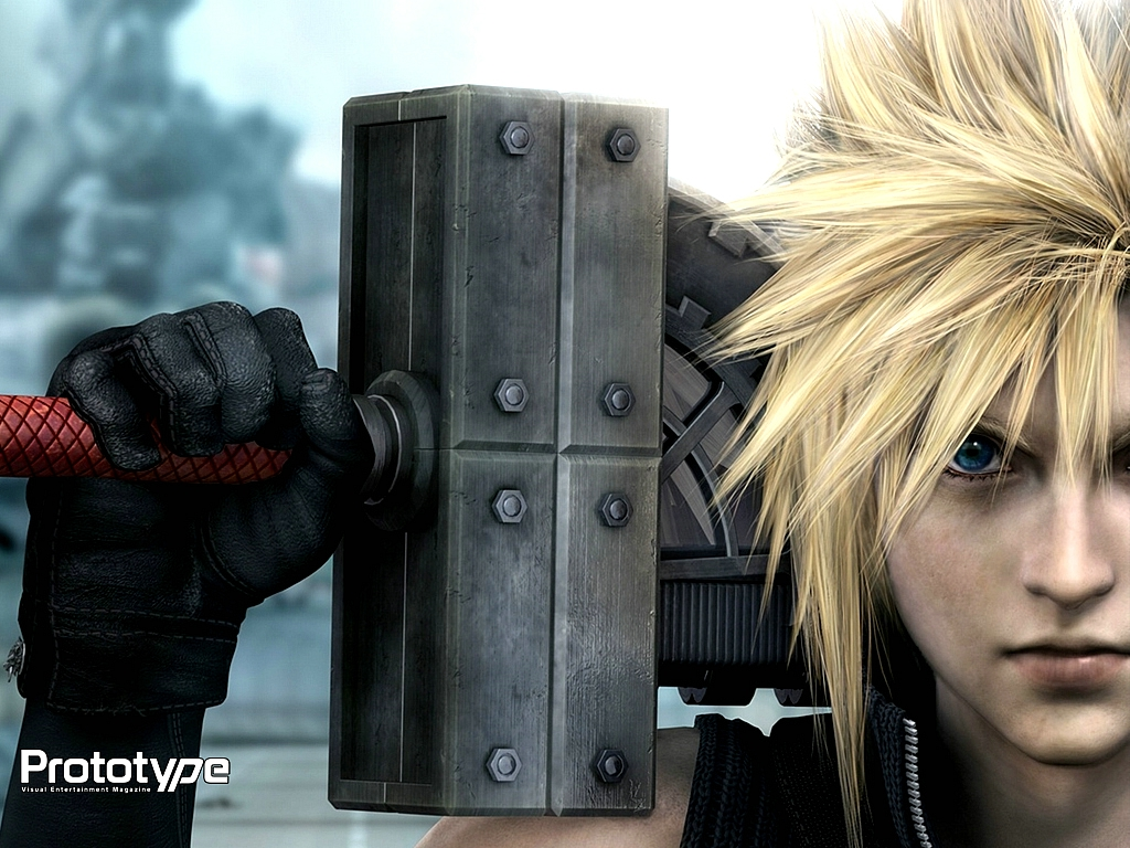 cloud_strife final_fantasy final_fantasy_vii final_fantasy_vii_advent_children