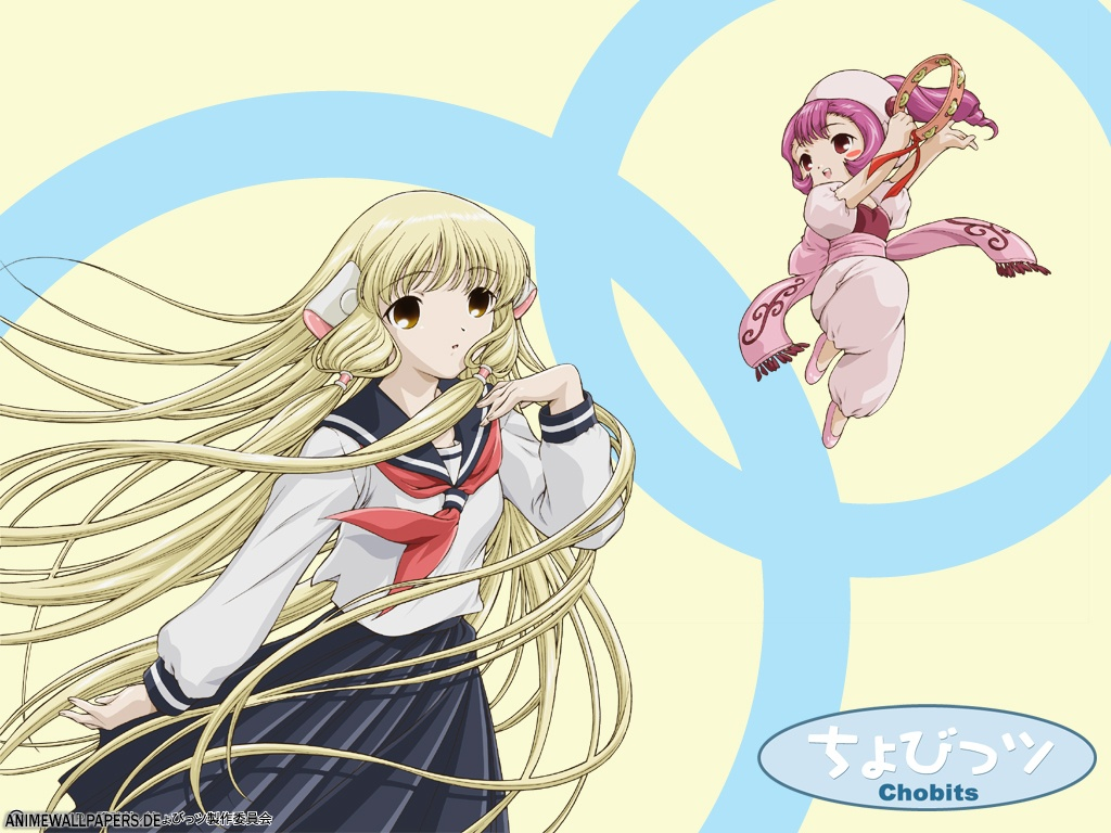 blonde_hair chii chobits long_hair school_uniform sumomo