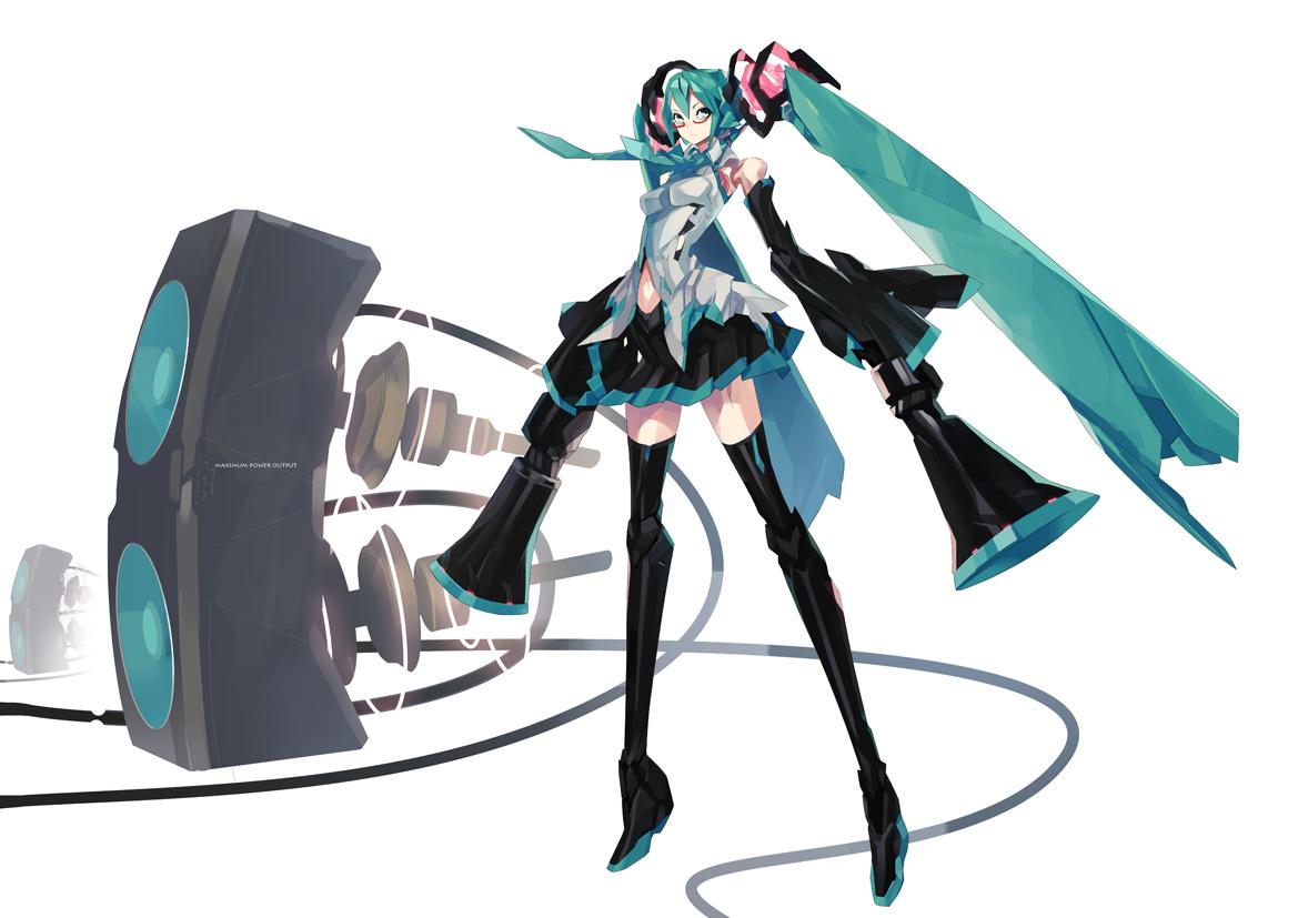 hatsune_miku pump_(artist) vocaloid