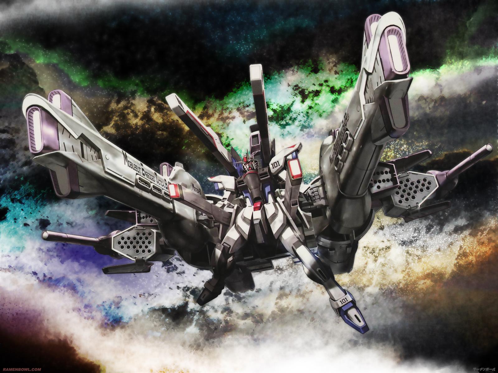 gundam_seed mecha mobile_suit_gundam robot