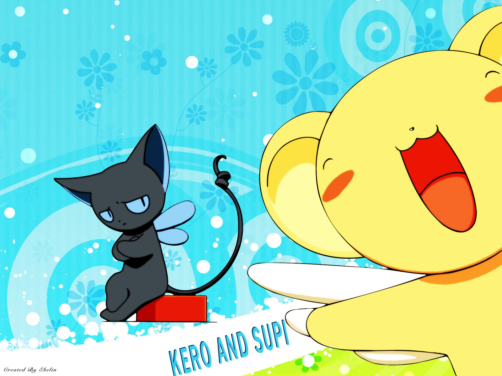 animal card_captor_sakura cat kero suppi wings