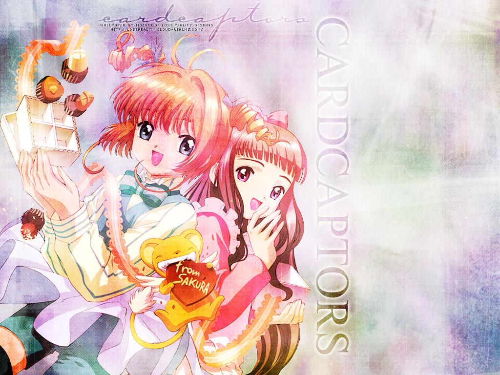 candy card_captor_sakura chocolate daidouji_tomoyo food kero kinomoto_sakura long_hair short_hair valentine