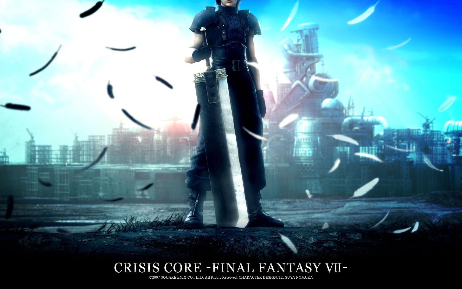 crisis_core_final_fantasy_vii final_fantasy final_fantasy_vii zack_fair