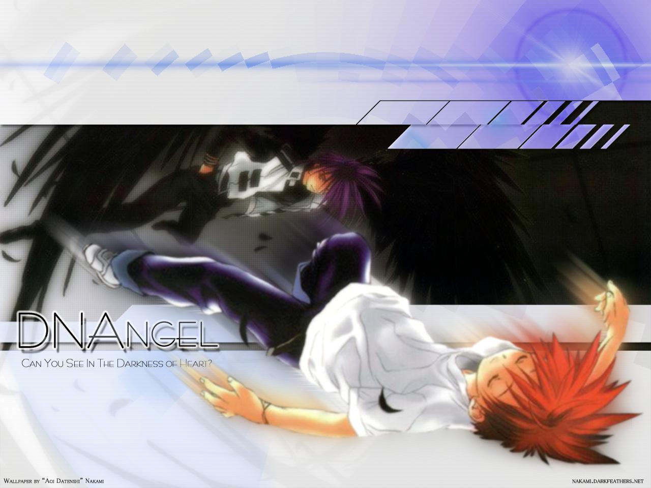 all_male dark_mousy dnangel male niwa_daisuke purple_hair red_hair sugisaki_yukiru wings