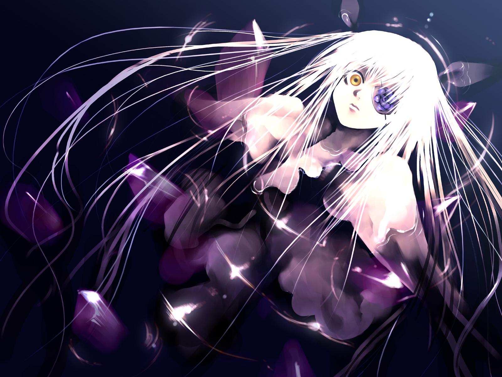 barasuishou eyepatch kei_(artist) purple rozen_maiden