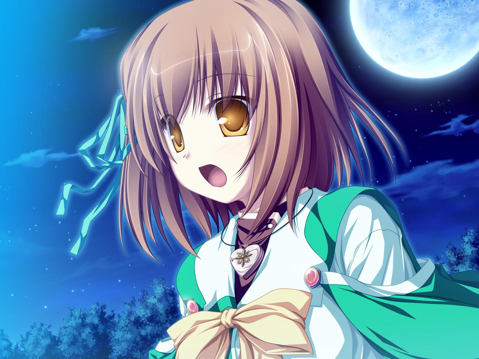 game_cg koyuki_amagase magus_tale school_uniform short_hair tenmaso whirlpool yellow_eyes