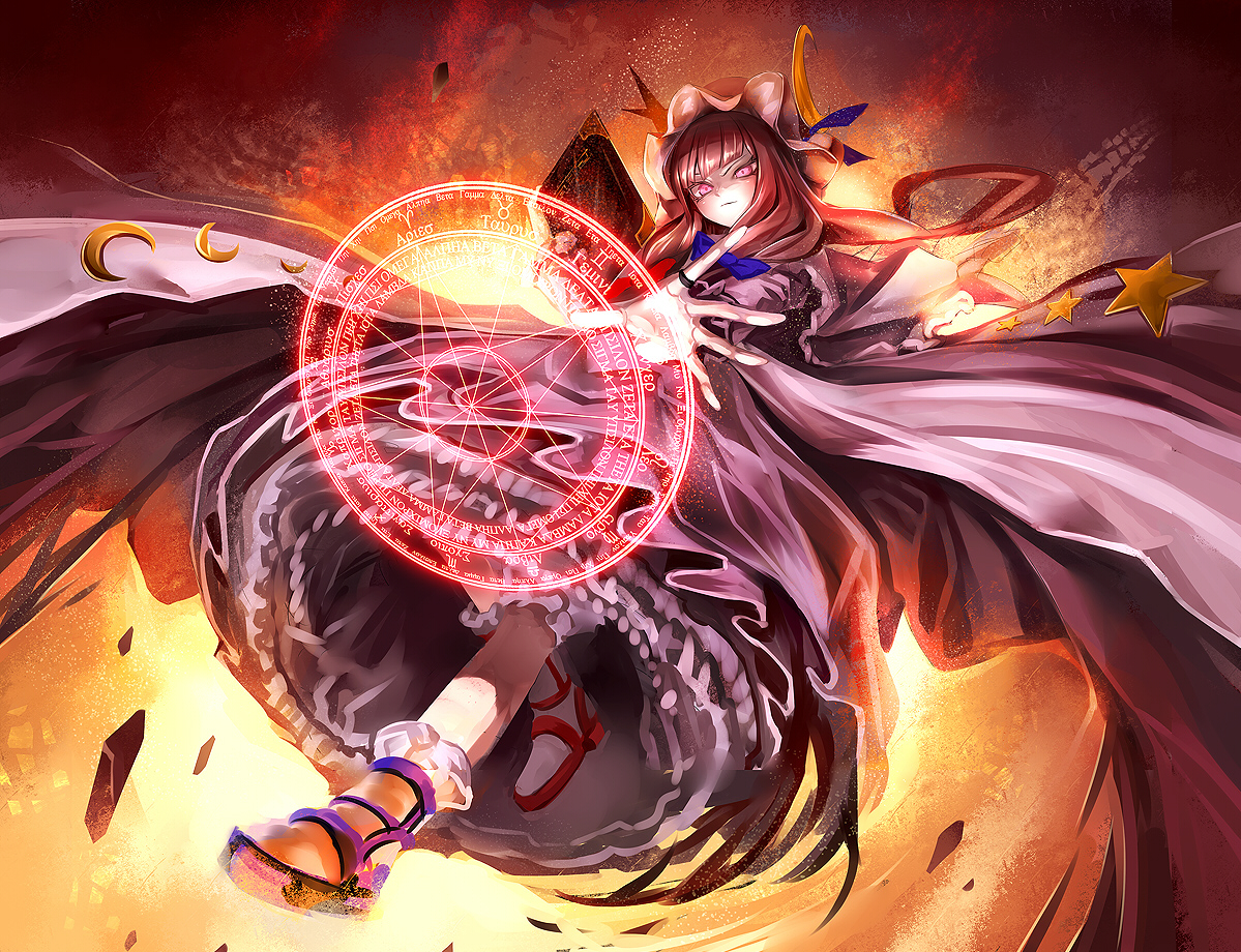 kozou_(soumuden) mage magic patchouli_knowledge touhou