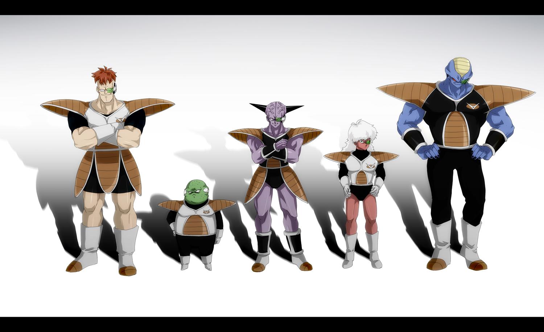burter captain_ginyu dragonball ghost_in_the_shell:_stand_alone_complex guldo jeice parody recoome tansan_otoko