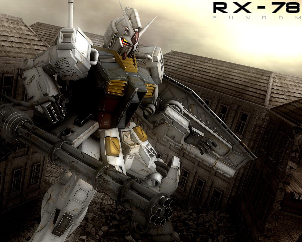 mecha mobile_suit_gundam rx-78 weapon
