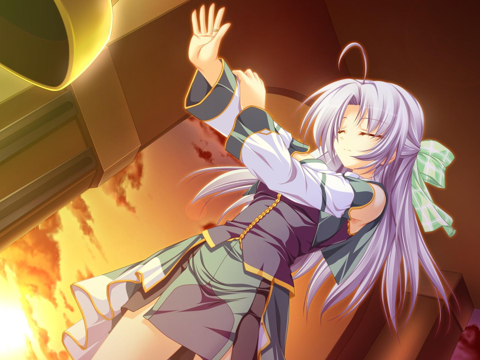 alicia_infans bow game_cg long_hair magus_tale purple_hair tenmaso whirlpool