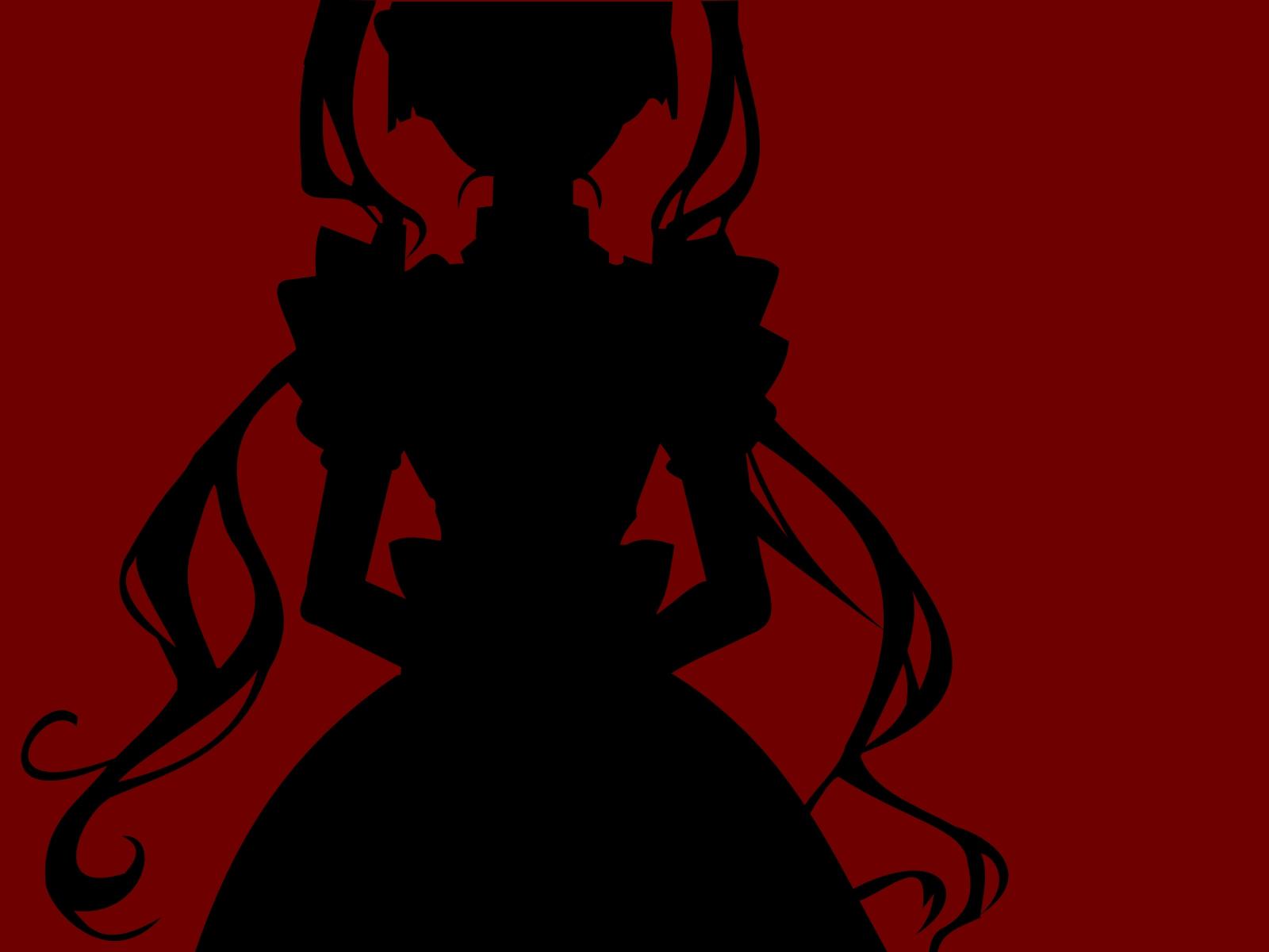 maria_holic shinouji_matsurika silhouette